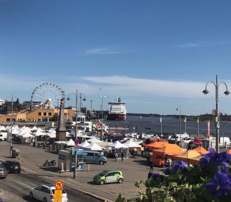 Helsingin sataman sijoittumisen vaihtoehdot – puhe selvityksen vastaanottotilaisuudessa