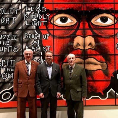Preview Opening at Helsinki Art Museum HAM, Gilbert & George -exhibition