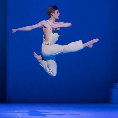 Atte Kilpinen Sylvia-baletissa 2019. Kuva: Mirka Kleemola
