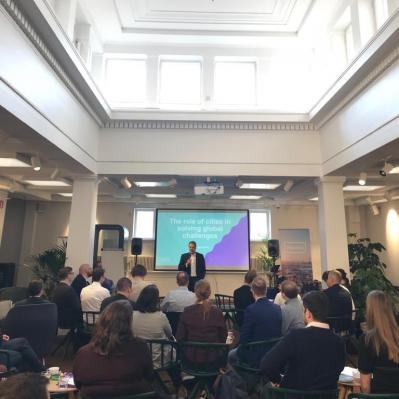 Data and AI Ethics Seminar, Mayor Vapaavuori's opening speech, Sofia Future Farm