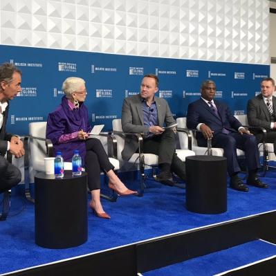 Suomi ja Helsinki globaalin ikääntymiskeskustelun etujoukoissa – kokemuksia Milken-konferenssista