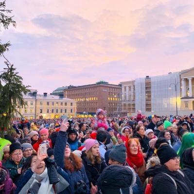 Helsingin Joulukadun avajaiset 24.11.2019