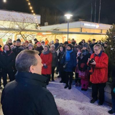 Munkkivuoren ostarin 60-vuotisjuhla 3.12.2019
