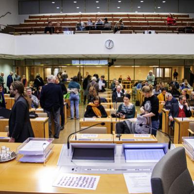 Puhe korona-tilanteesta Helsingin kaupunginvaltuustossa