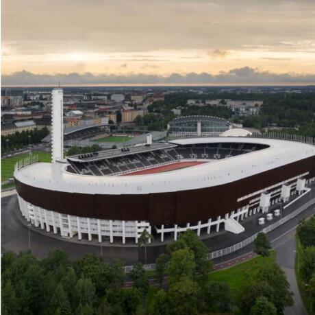 Olympiastadion, mediapäivä 17.8.2020
