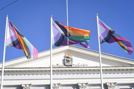 Helsinki Pride tapahtuman avajaiset 7.9.2020