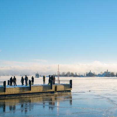 Periaatepäätös satamatoimintojen uudelleenjärjestelyistä, puhe Helsingin kaupunginvaltuustossa 3.2.2021