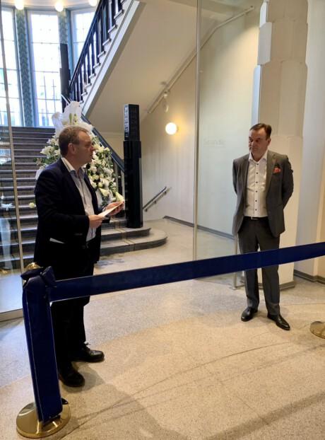 Scandic Grand Central Helsinki avajaiset, 15.4.2021