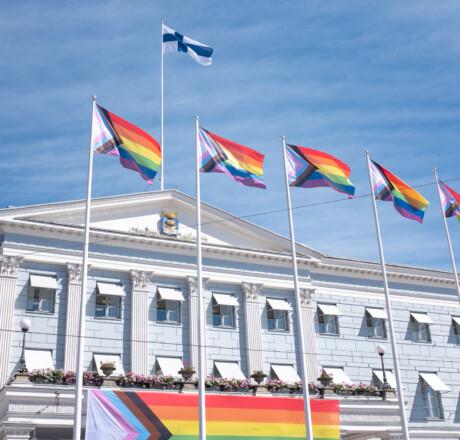 Helsinki Pride -viikon avajaiset 28.6.2021